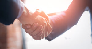 Terms and conditions handshake agreement